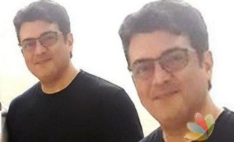 Thala Ajith's important meeting with a top sportsman for his dream project