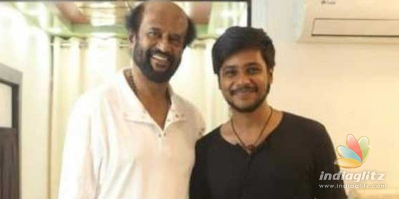 Popular heros brother gets a lucky debut with Superstar Rajinikanth