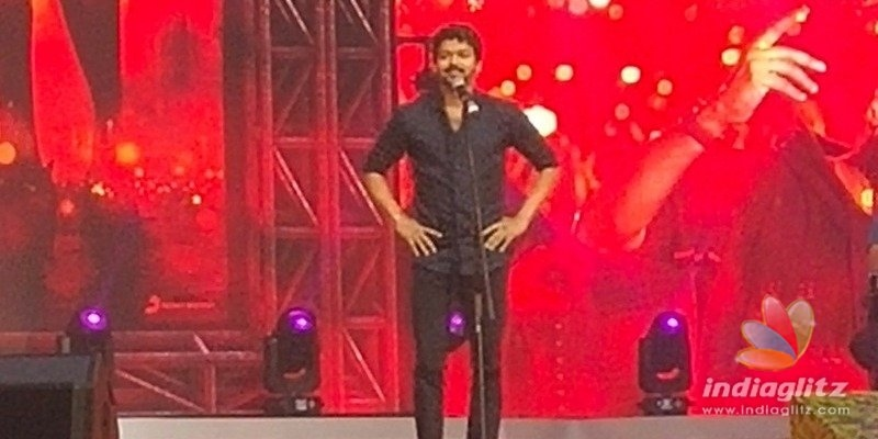Never touch my fans! -Vijay at Bigil audio launch!