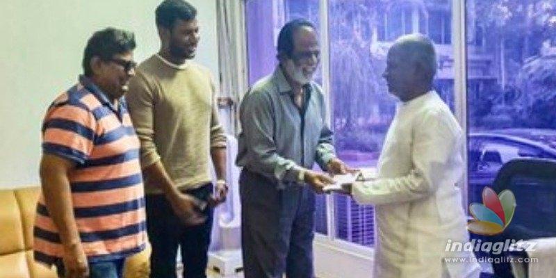Breaking! Vishal gets Isaigniani Ilayaraja for his next