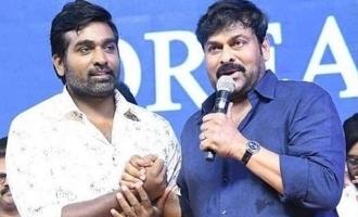 Megastar Chiranjeevi rates Vijay Sethupathi next to Kamal Haasan
