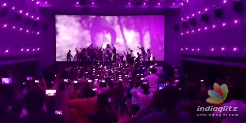 Thala Ajith fans rock allover in Nerkonda Paarvai 50th day celebrations