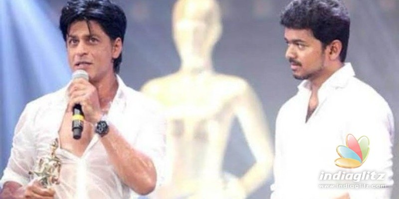 Shah Rukh Khans one magical word about Thalapthy Vijay