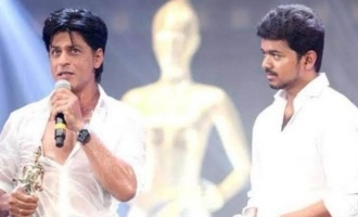 Shah Rukh Khan's one magical word about Thalapthy Vijay