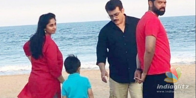 Ajith gives quality time to family before Thala 60