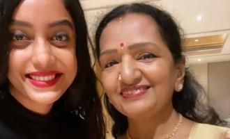விஜய் அம்மாவை சந்தித்த 'பிக்பாஸ்' சீசன் 3 நடிகை