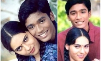 Sherin shares sentimental message and photos with Dhanush