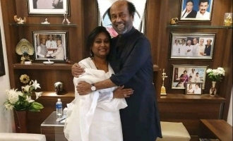 Thalaivar fan who opened restaurant in his name in Dubai gets to meet him