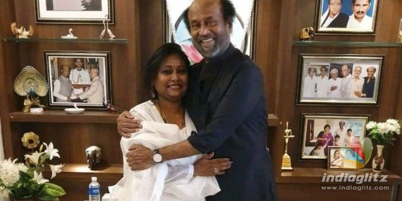 Thalaivar fan who opened restaurant in his name in Duabi gets to meet him