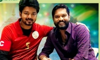Thalapathy Vijay's favorite Soundaraja heads 'Bigil' 25th day celebrations