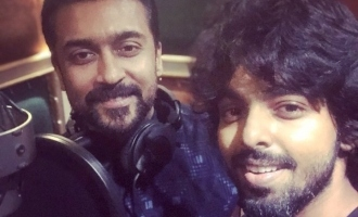 Breaking! Suriya does it for the first time for G.V. Prakash