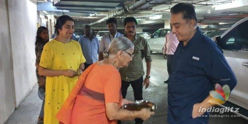 Kamal Haasan returns home after surgery