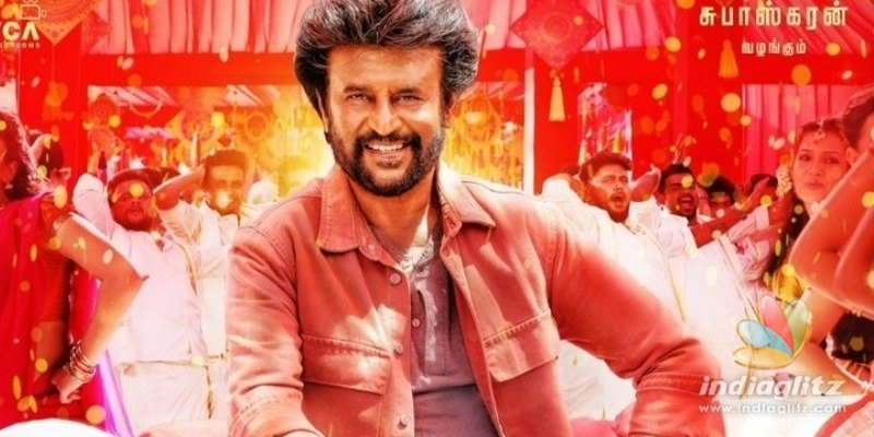 Thalaivar rocks in Darbar new poster announcement of audio launch