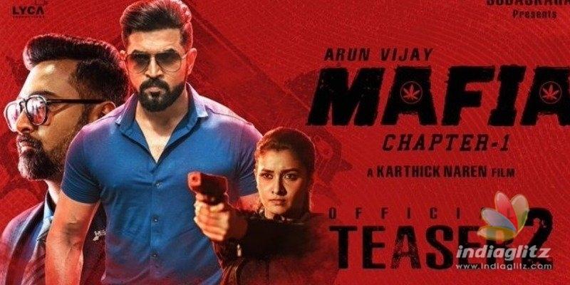 Brawn versus Brain - Arun Vijay clashes with Prasanna in Mafia teaser 2