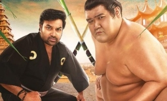 Agila Ulaga Superstar Shiva trains a Japanese 'Sumo' - trailer review
