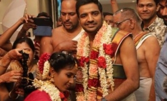 Sathish gets the biggest wedding gift