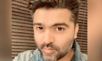 Simbu's stunning new look after Sabarimala trip goes viral