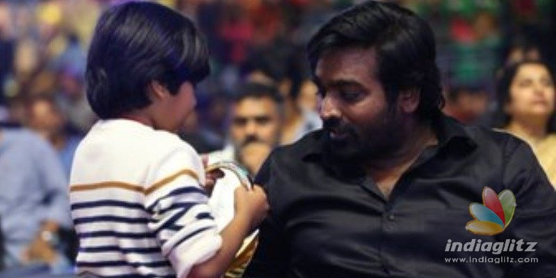 Super Deluxe Ashwanths cute birthday wish video for Vijay Sethupathi