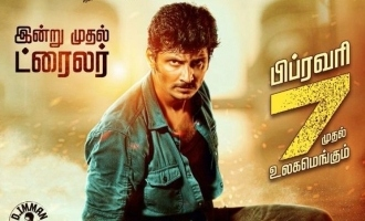 Jiiva is back in action packed gangster flick - 'Seeru' trailer review