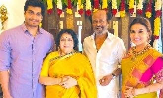 Grand Thala Pongal celebrated in Superstar Rajinikanth's family