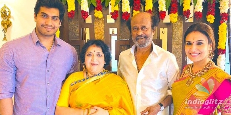 Grand Thala Pongal celebrated in Superstar Rajinikanths family