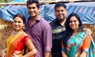 Soundarya and Vishagan's lovely village Pongal celebration with son Ved!