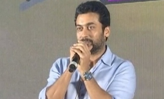 Suriya becomes emotional again and cries on stage - Video