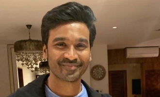 Dhanush posts a powerful pic and gives a hot update on his next movie