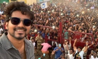 Thalapathy Vijay shows his mass power in 'Master' selfie and more latest pictures