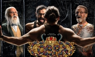 Chiyaan Vikram mesmerises in multiple getups - 'Cobra' first look is here