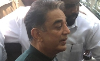 Kamal shares details about police inquiry today regarding 'Indian 2' accident