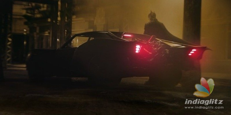 The new Batmobile of The Batman pics released