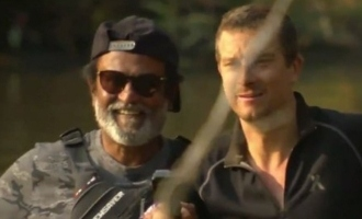 Superstar Rajinikanth oozes mass in Into the Wilds with Bear Grylls teaser