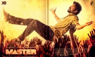 Breaking! Thalapathy Vijay's 'Vaathi' second single from 'Master' release date announced