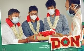 சிவகார்த்திகேயனின் 'டான்': அடுத்தகட்ட பணிகள் தொடக்கம்!