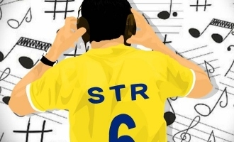 STR's new film title teaser revealed with a surprise for CSK fans! - Red Hot Update