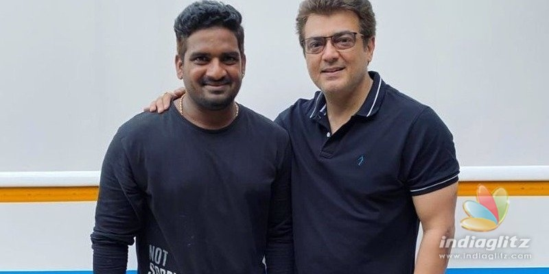 Thala Ajiths stunning fit look photos from Valimai sets turn viral!