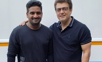 Thala Ajith's stunning fit look photos from Valimai sets turn viral!