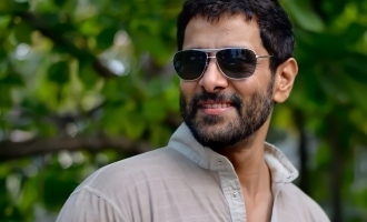 Vikram resumes shooting for his next action entertainer!