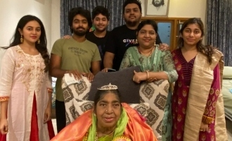 G.V. Prakash shares adorable photo of his grandmother and pays emotional tribute