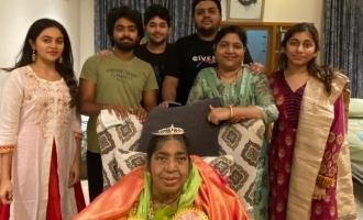 எங்கள் வீட்டின் மகாராணி: பாட்டி மறைவு குறித்து ஜிவி பிரகாஷ்!