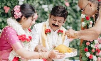 Actor Ramesh Aravind's daughter gets married
