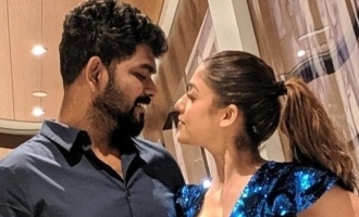 Nayanthara - Vignesh Shivan's romantic New Year celebration!