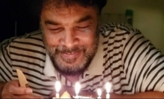 Sundar C celebrates birthday drenching in the love of his three girls