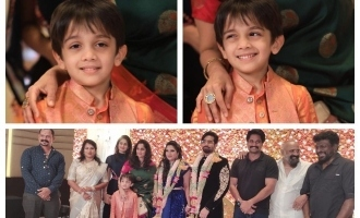Thala Ajith's son Aadvik's cute new photos turn viral!