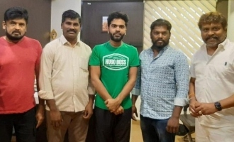 Breaking: Simbu signs an interesting project for producers welfare!