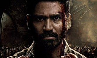 Dhanush's absolute mass first look poster from 'Karnan' is here with release date - Tamil News - IndiaGlitz.com