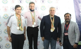 Ajith wins gold medals - proud moment for Thala fans!!