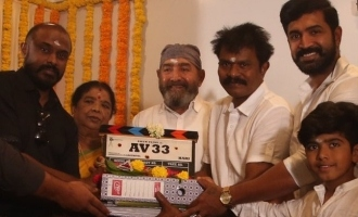 Arun vijay and Hari movie kick started with pooja today