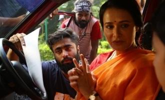 Vintage actress Amala Akkineni returns to Tamil Cinema after 30 years! - BTS photos viral